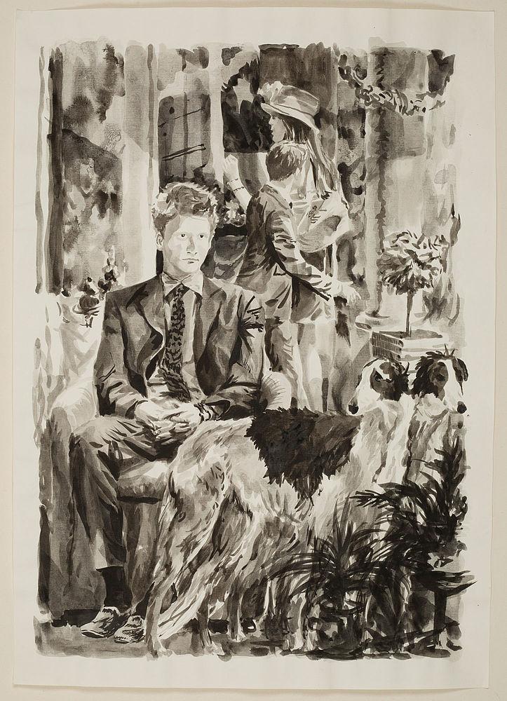 B15 Harry mit Wildhunden / E19 La perspective ralentie