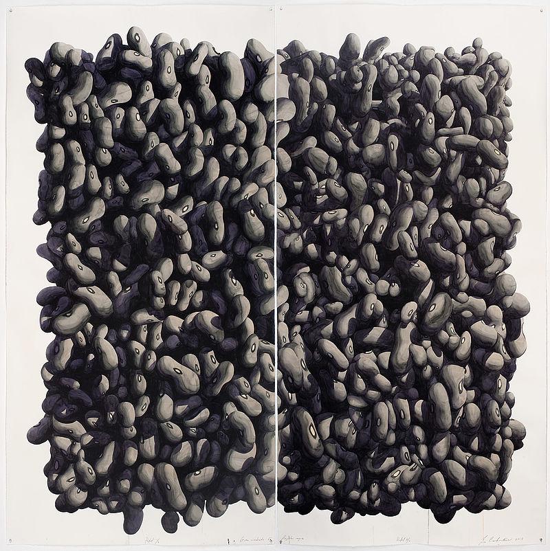 Gran Cuadro de Frijoles Negros